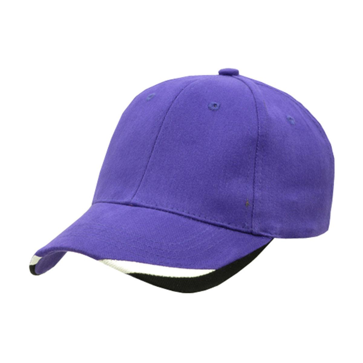 Bondi Cap-Purple / White / Black