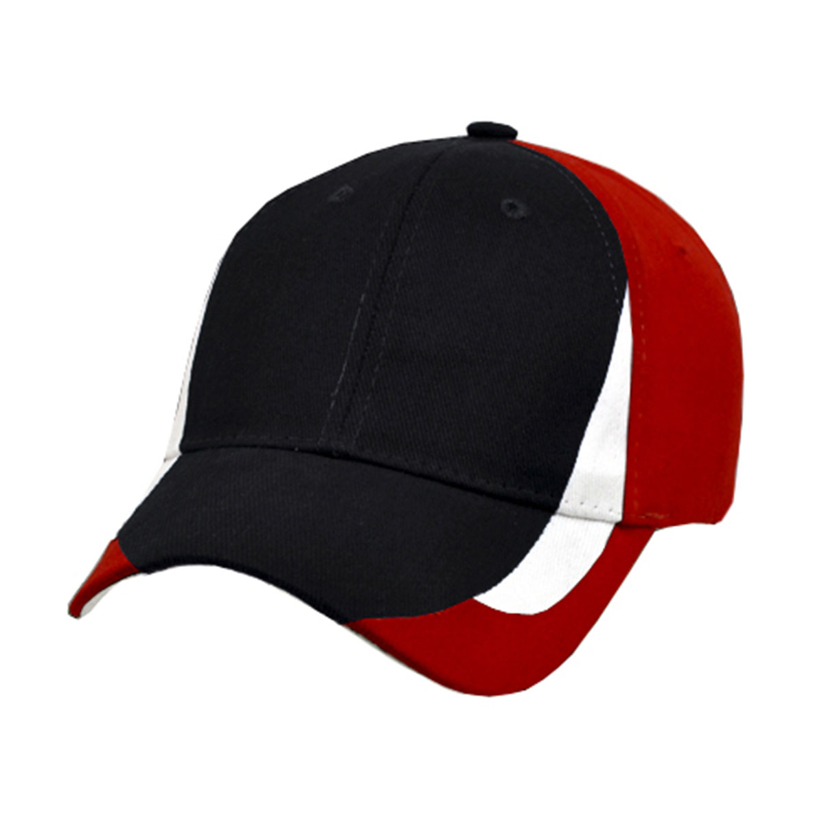 Tribeca Cap-Black / White / Red