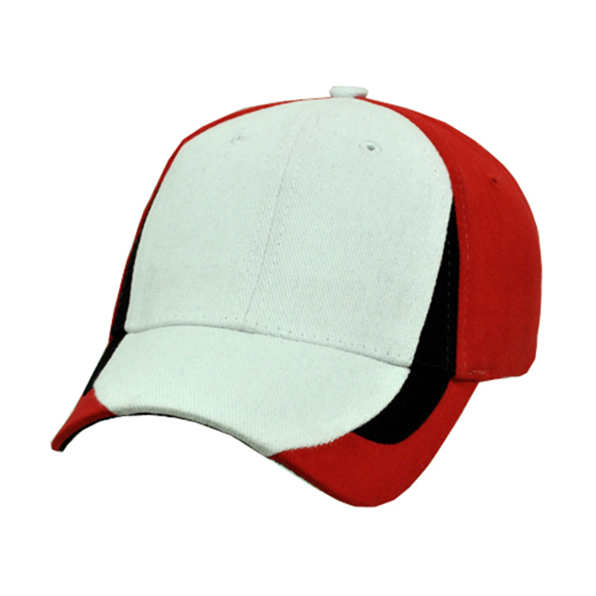 Tribeca Cap-White / Black / Red