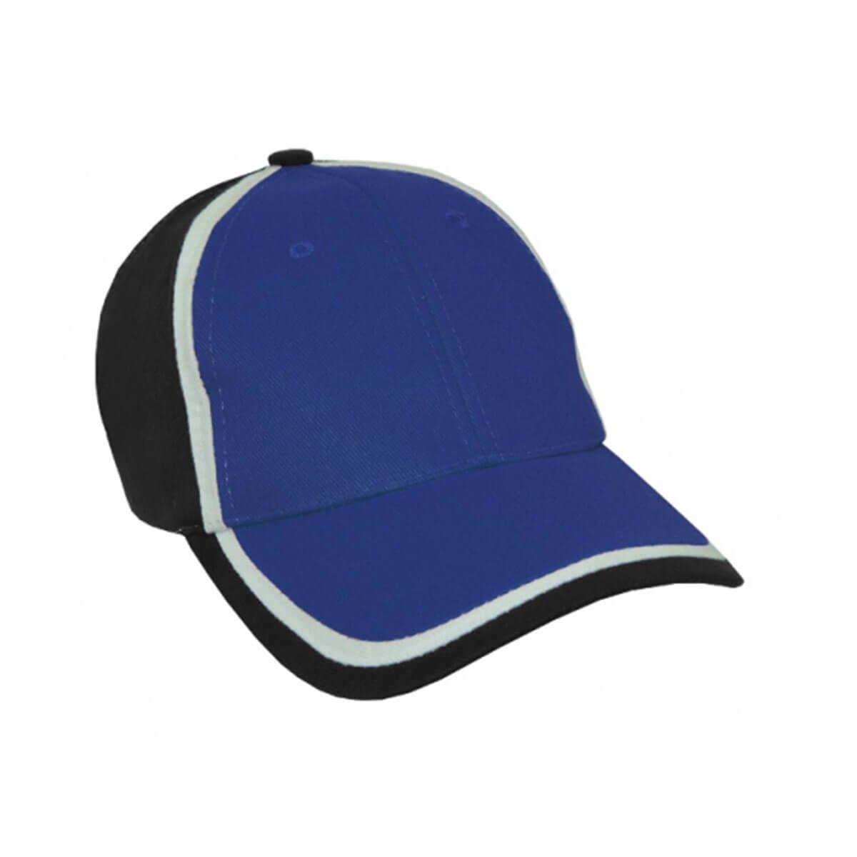 HBC Trim Design Cap-Royal / White / Black