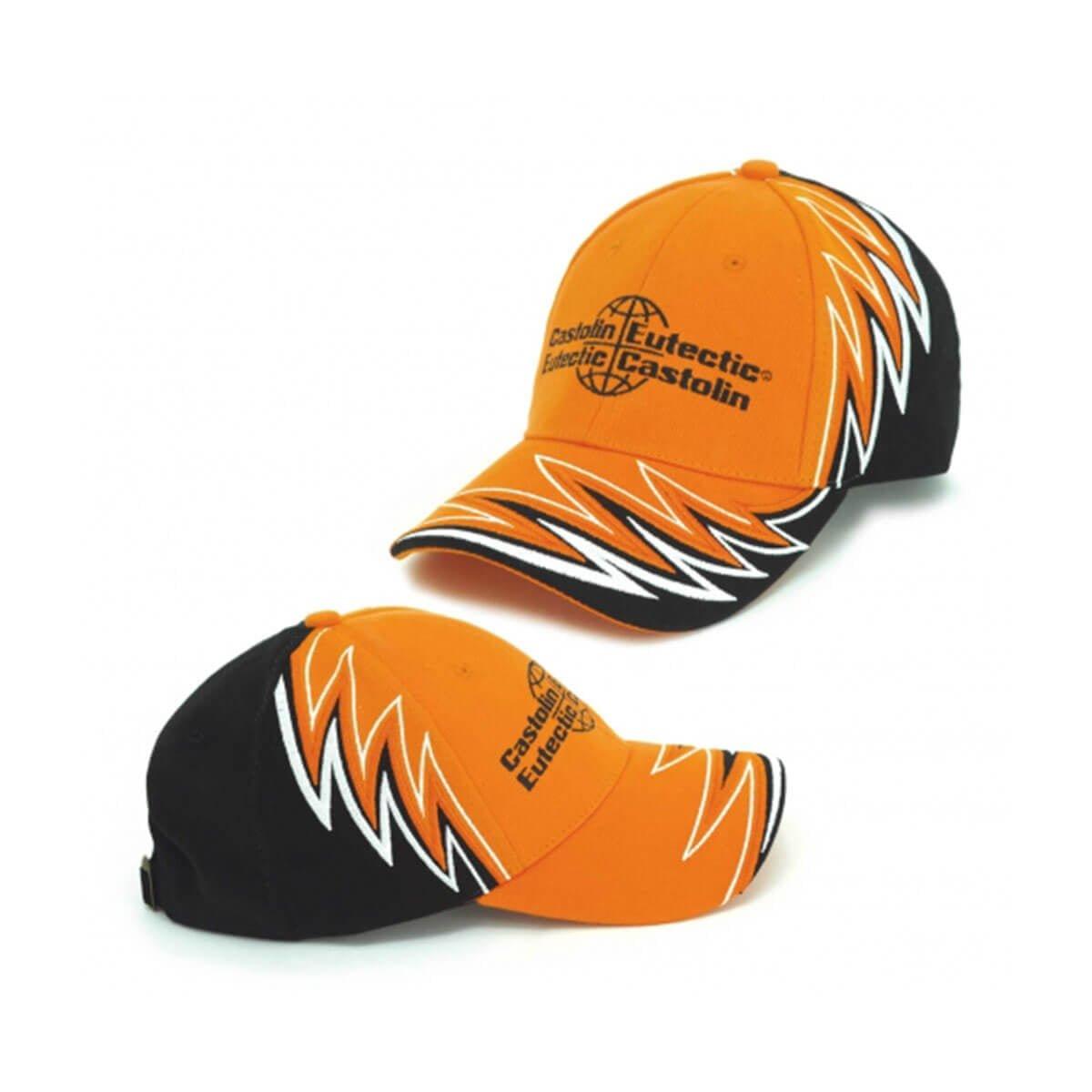 Memphis Cap-Orange / White / Black