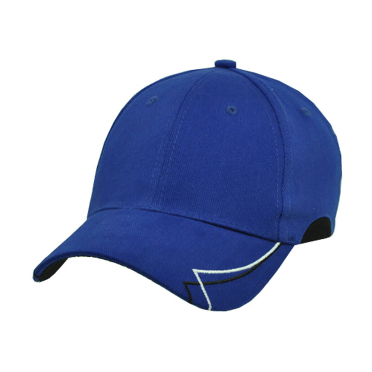 Circuit Cap-Royal / White / Black