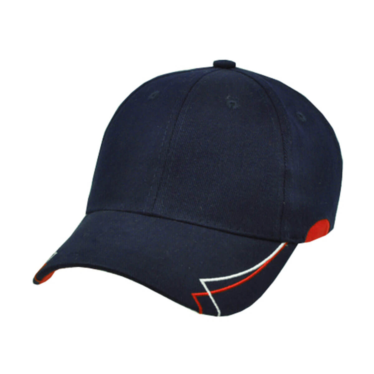 Circuit Cap-Navy / White / Red