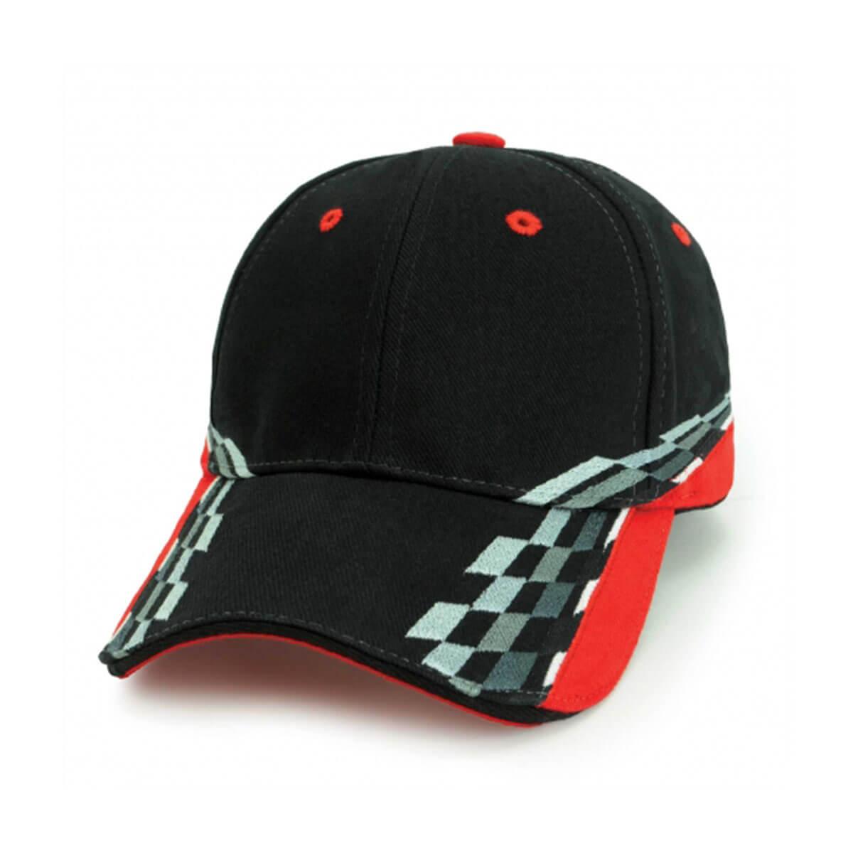 Torino Cap-Black / Red