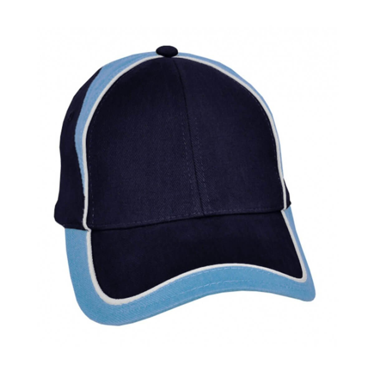 Wickham Cap-Navy / White / Sky