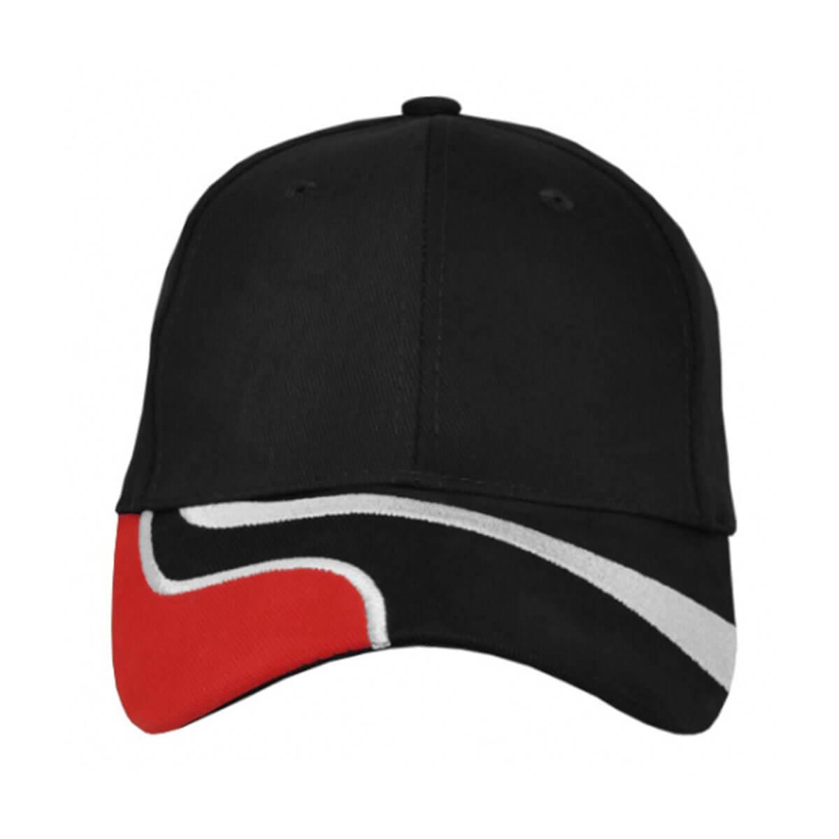 Highway Cap-Black / White / Red