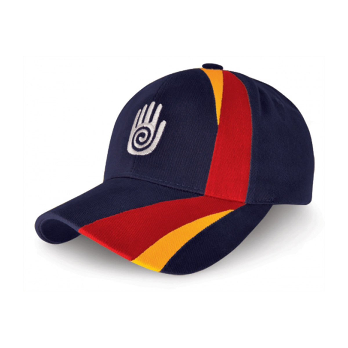 Turin Cap-Navy / Red / Aussie Gold