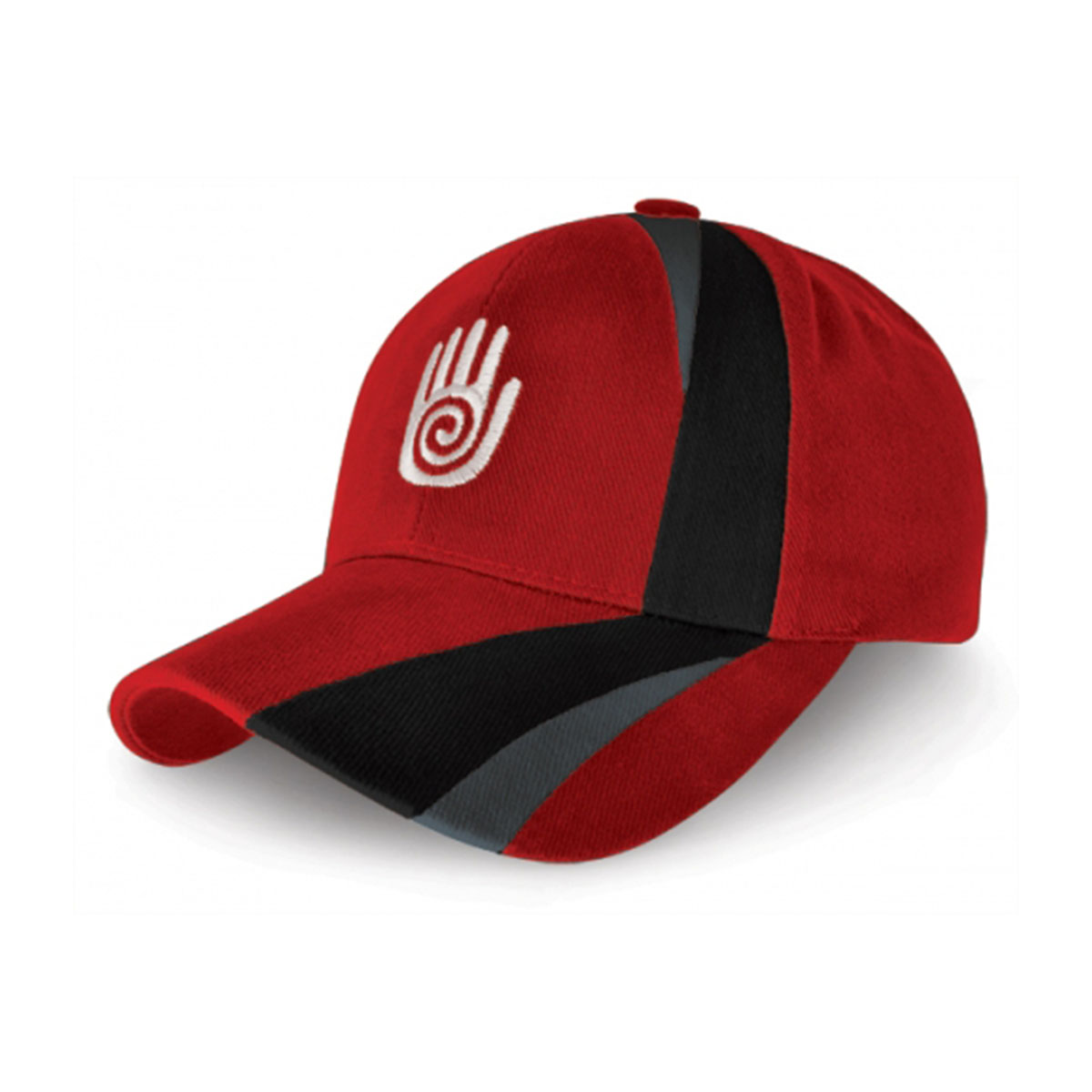 Turin Cap-Red / Black / Dark Grey