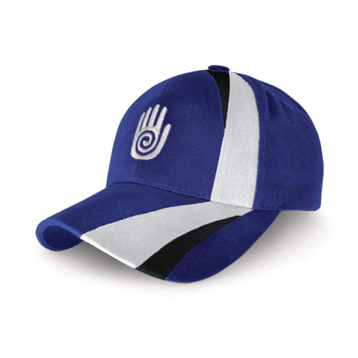 Turin Cap-Royal / White / Black