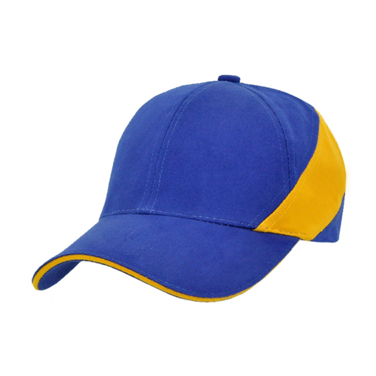 HBC Wrap Around Cap-Royal / Gold