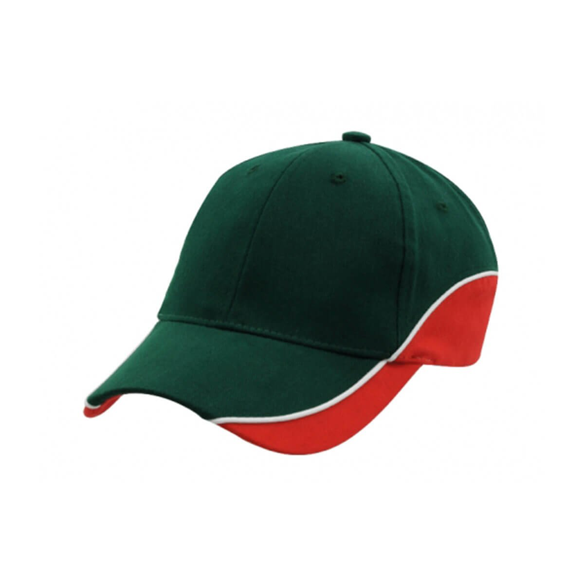 Adventure Cap-Bottle / White / Red