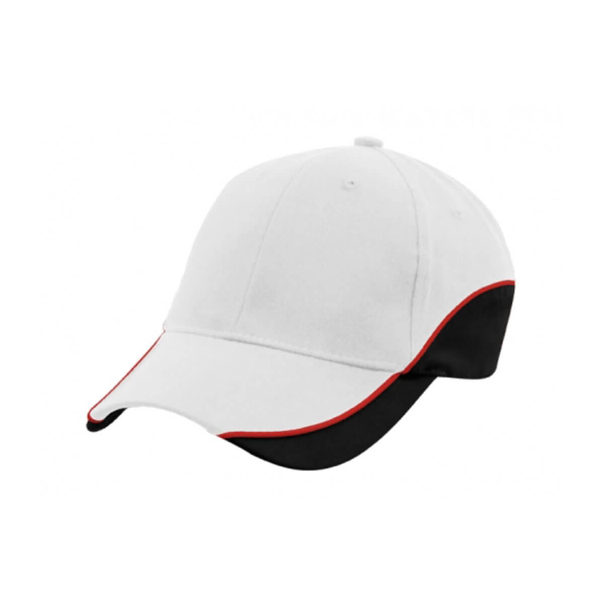 Adventure Cap-White / Red / Black
