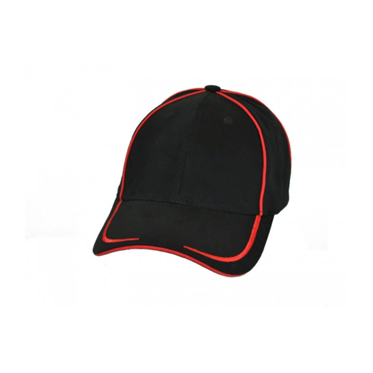 Collier Cap-Black / Red