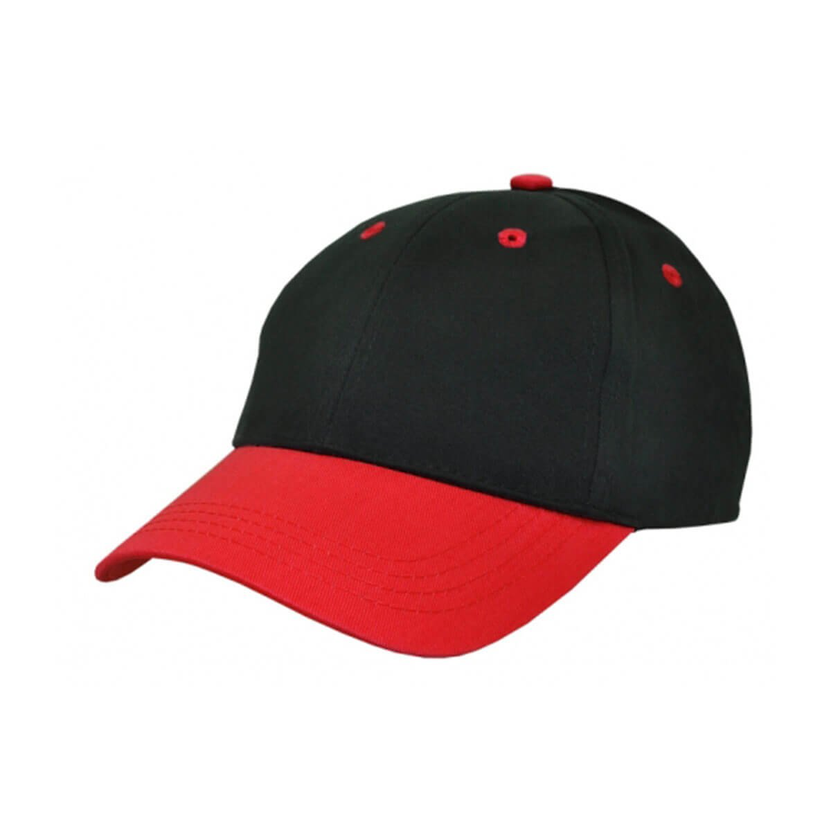 Kids Cap-Black / Red
