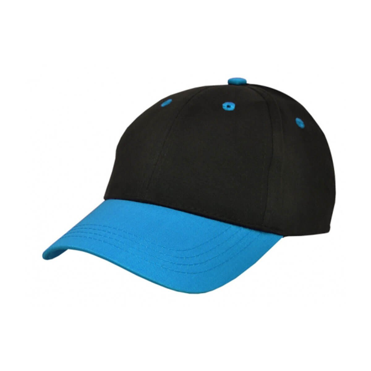 Kids Cap-Black / Teal