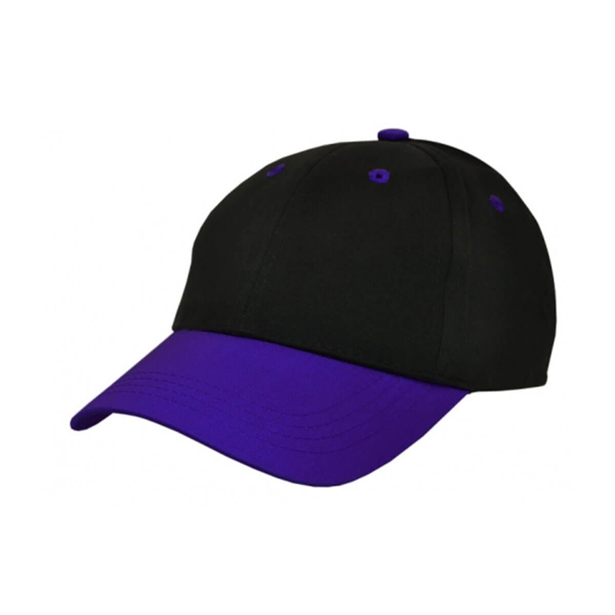 Kids Cap-Black / Purple