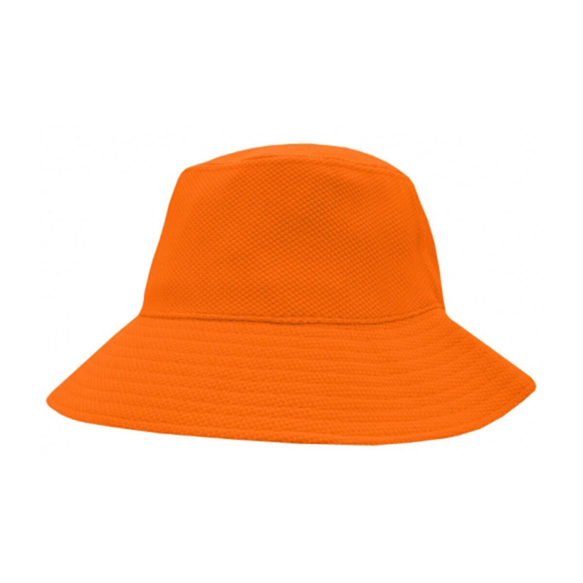 PQ Mesh Bucket Hat-Fluro Orange