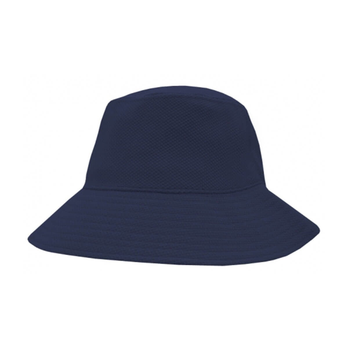 PQ Mesh Bucket Hat-Navy