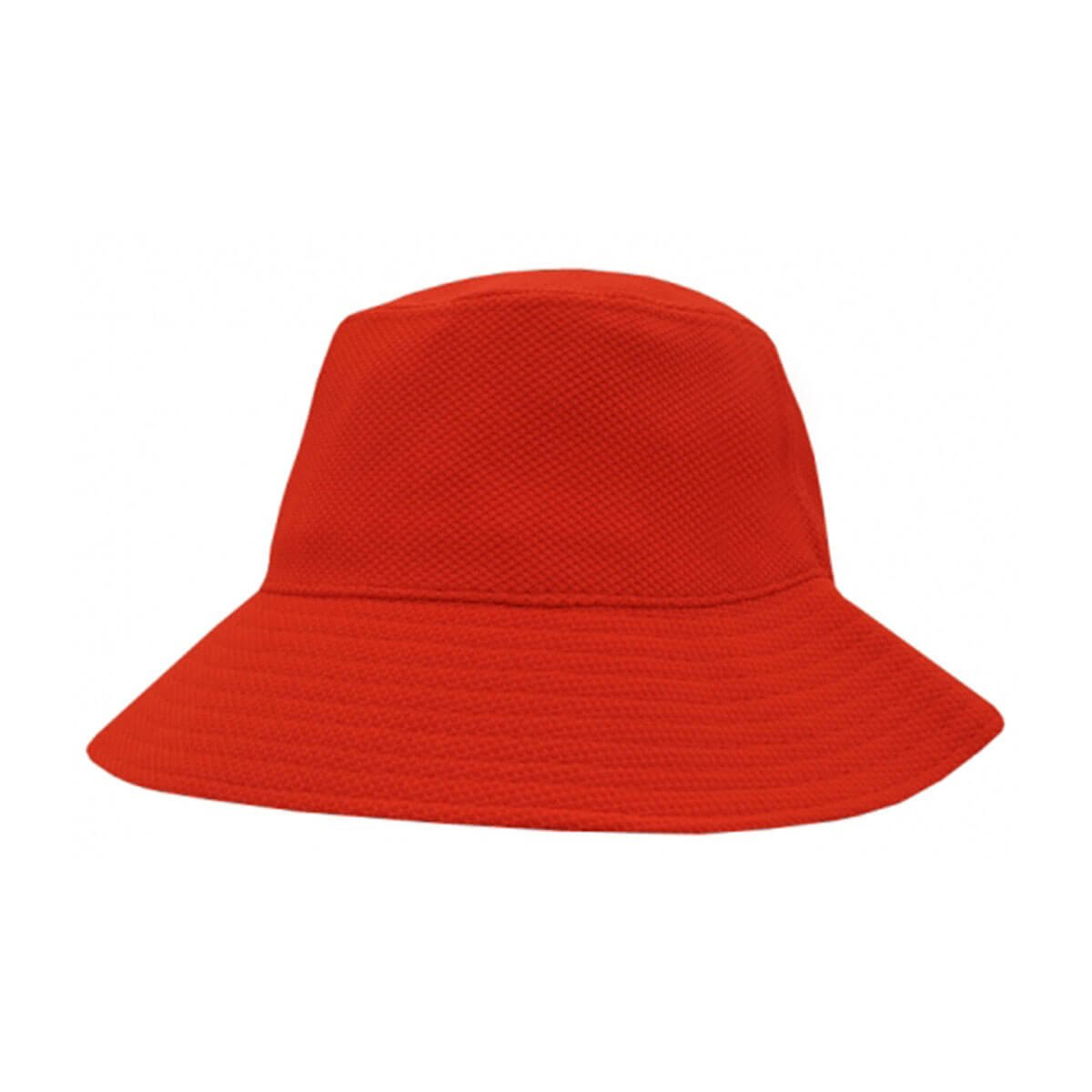 PQ Mesh Bucket Hat-Red