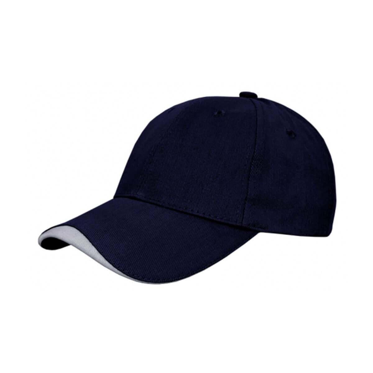 Kids Cap-Navy / White
