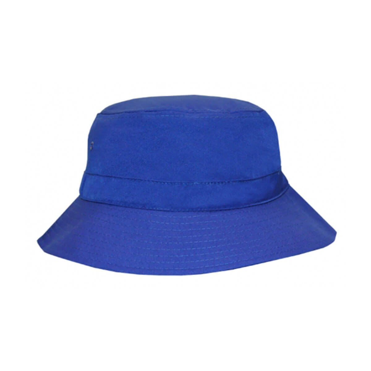 Polyviscose Bucket Hat-Royal