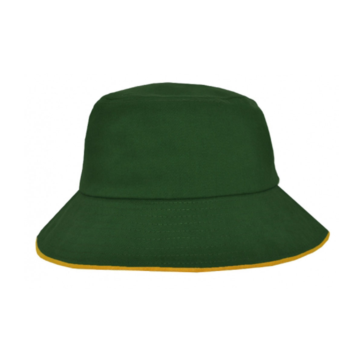 Bucket Hat Sandwich Design-Bottle / Gold