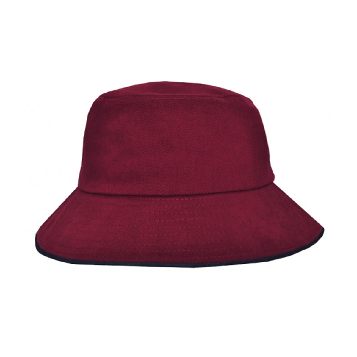Bucket Hat Sandwich Design-Maroon / Navy