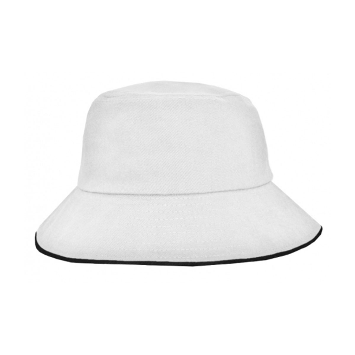 Bucket Hat Sandwich Design-White / Black