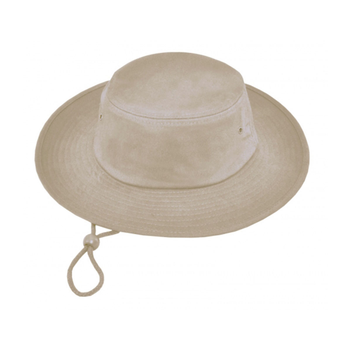 Surf Hat with Rope & Toggle-Natural