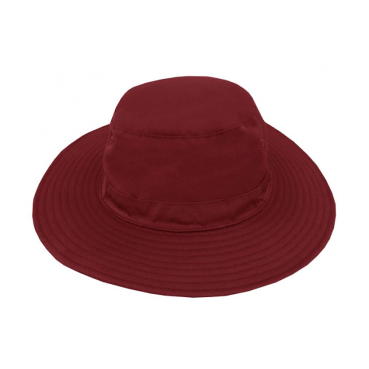 Polyviscose Surf Hat-Maroon