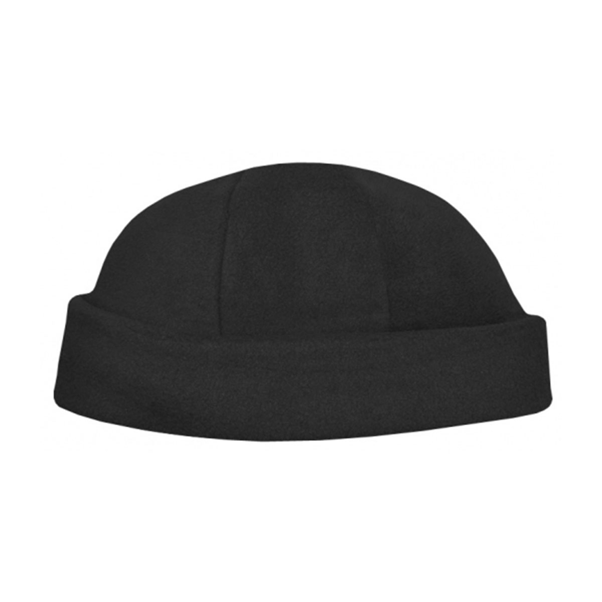 Polar Fleece Beanie-Black