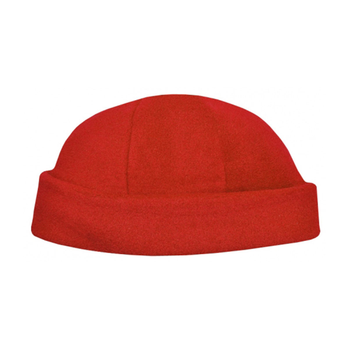 Polar Fleece Beanie-Red