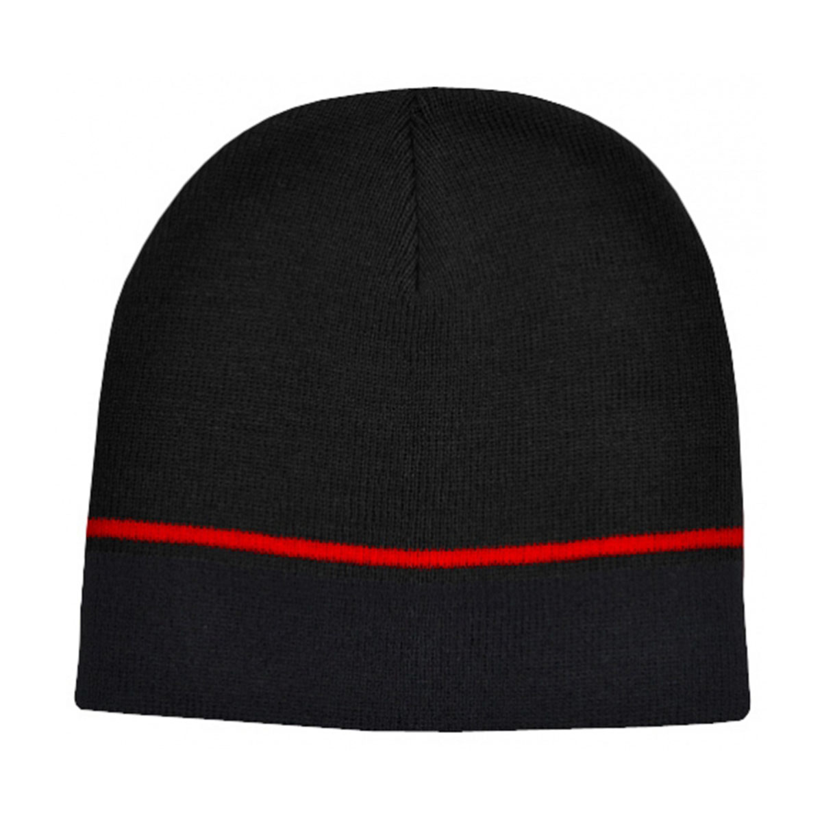 Two-Tone Beanie-Black / Red