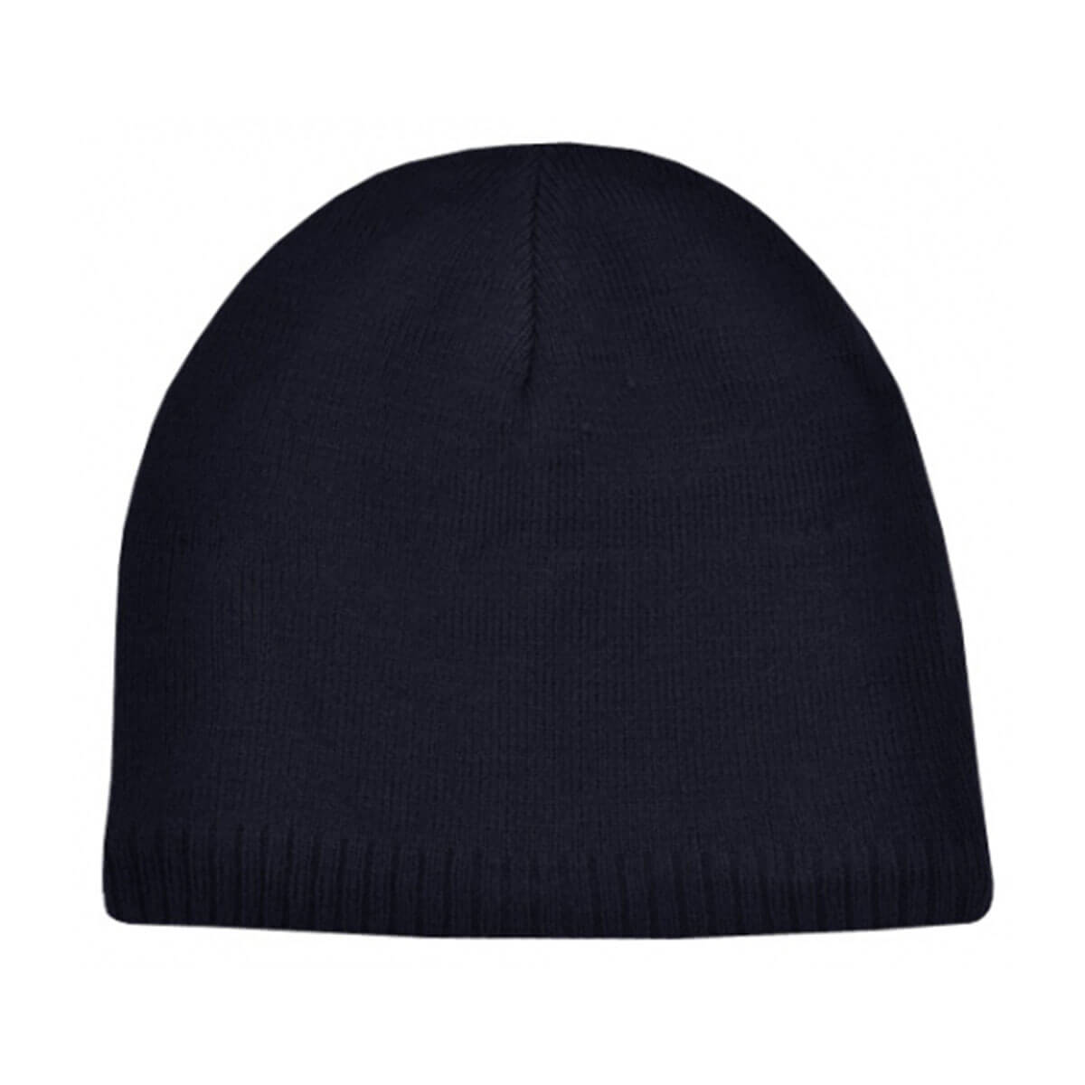 Acrylic/Polar Fleece Beanie-Navy