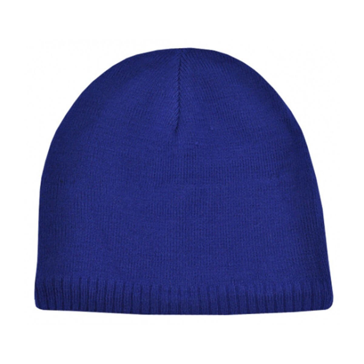Acrylic/Polar Fleece Beanie-Royal