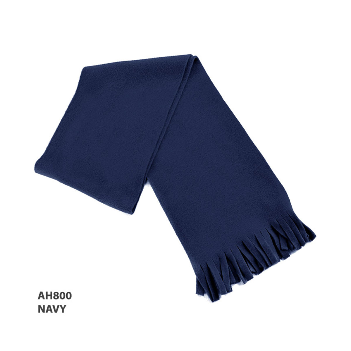 Polar Fleece Scarf-Navy