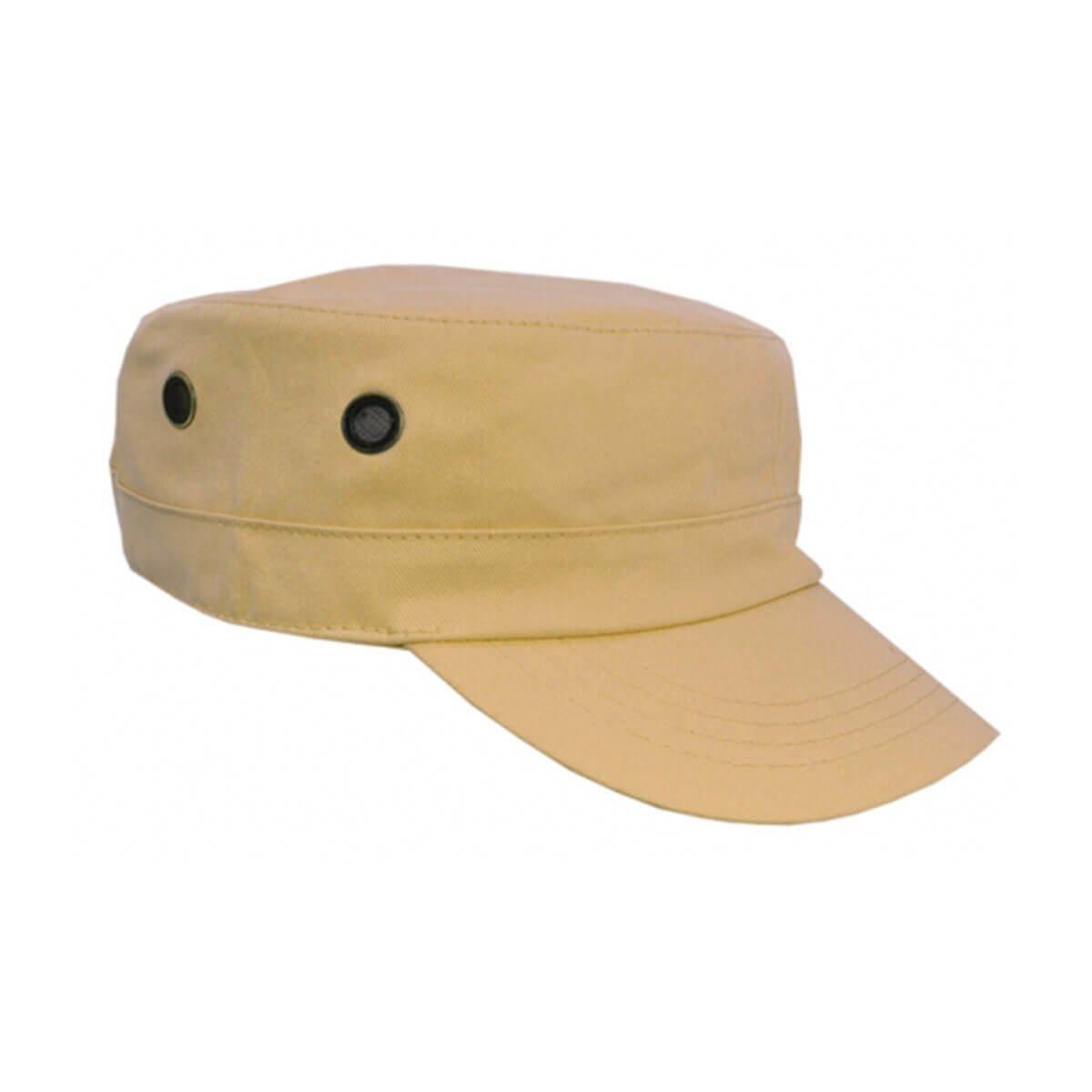 Military Cap-Khaki
