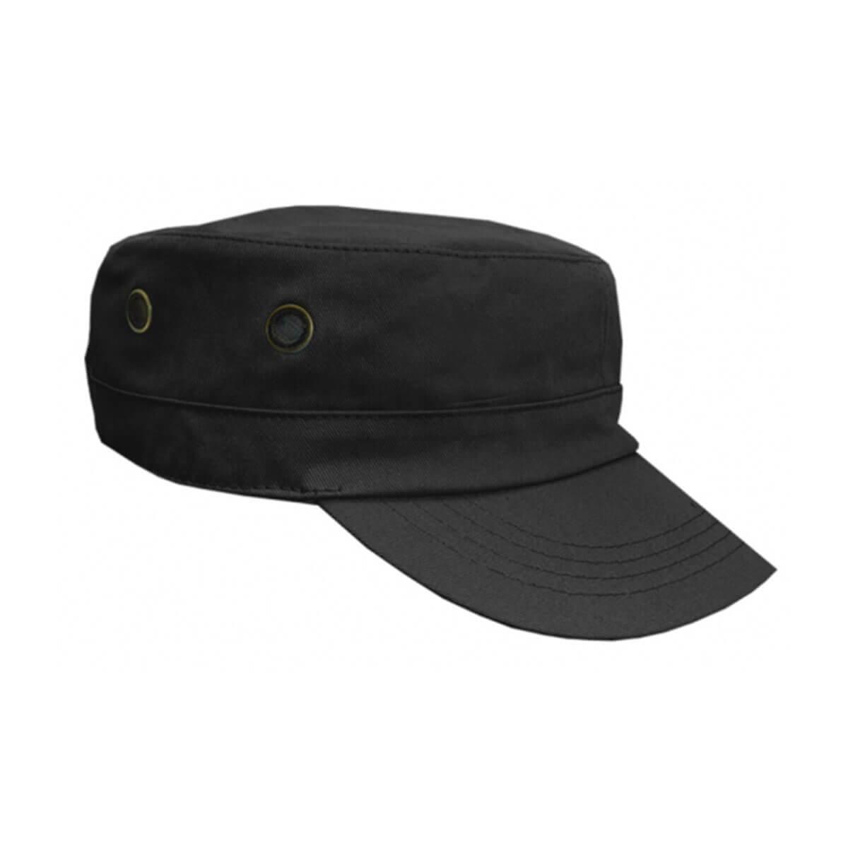 Military Cap-Black