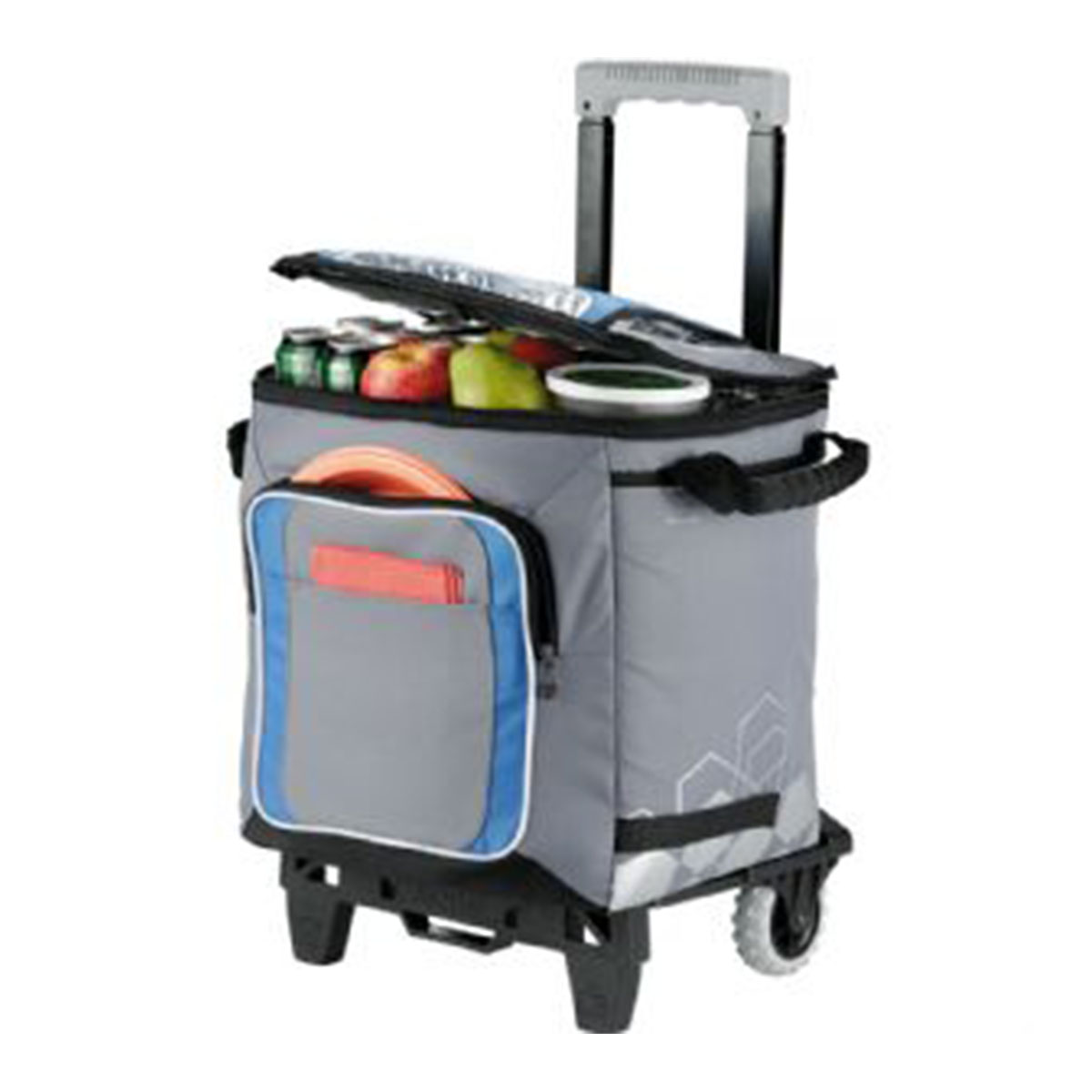 Arctic Zone®  50 Can Cooler-Grey with blue, black, white trim.