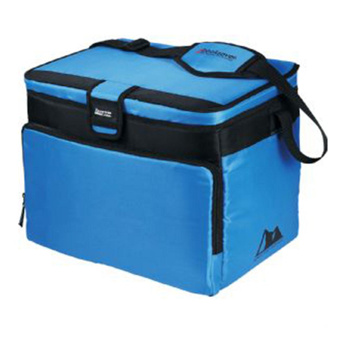 Arctic Zone®  30-Can Zipperless HardBody Cooler-Blue with Black Trim.