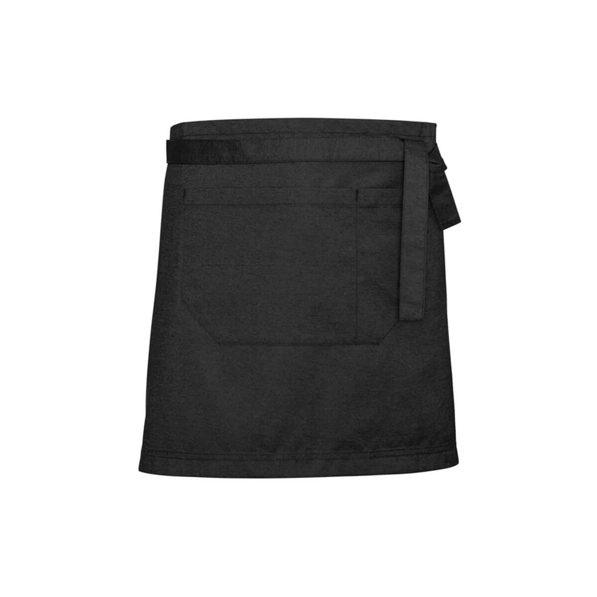 Urban 1/2 Waist Apron-Black Denim