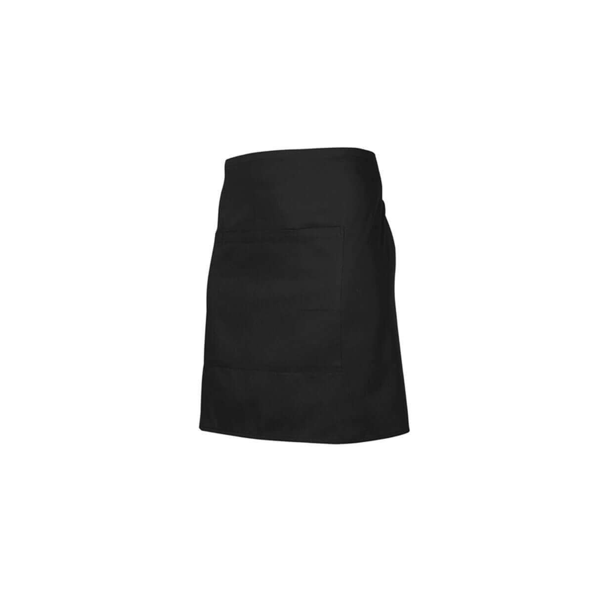 Short Waisted Apron-Black