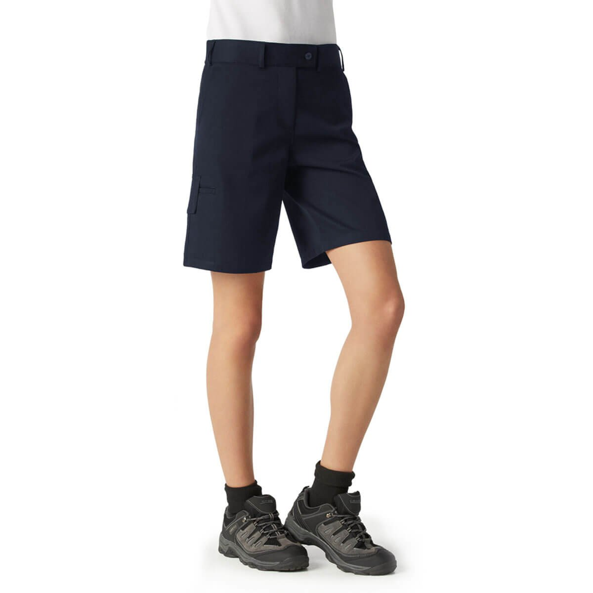 Ladies Detroit Short-Navy