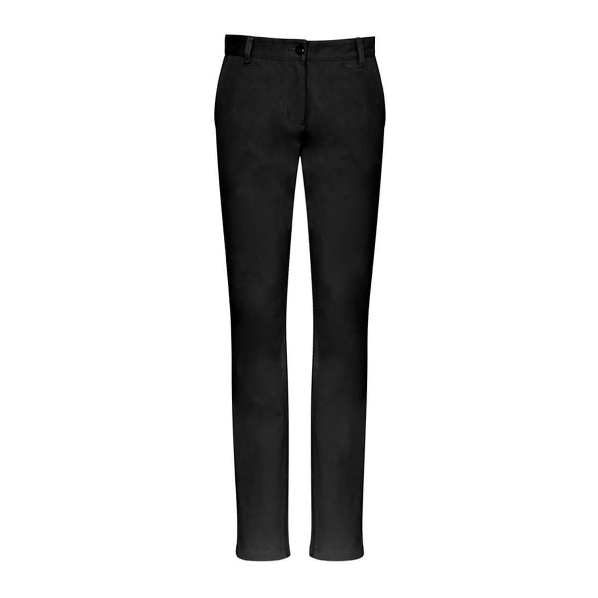 Ladies Lawson Chino Pant-Black
