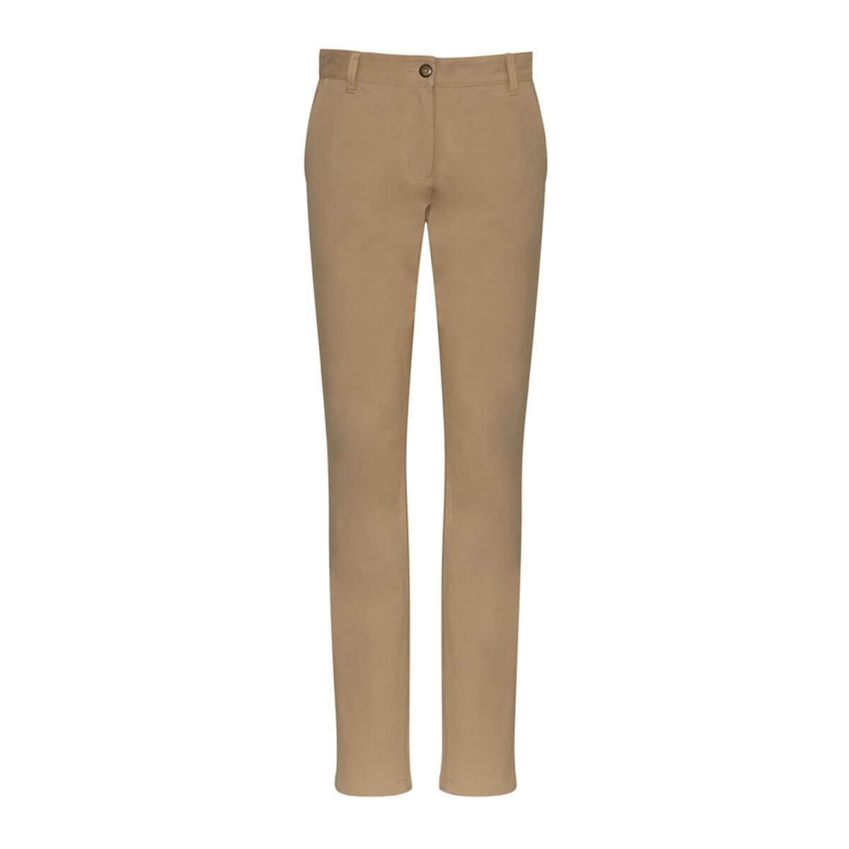 Ladies Lawson Chino Pant-Dark Stone