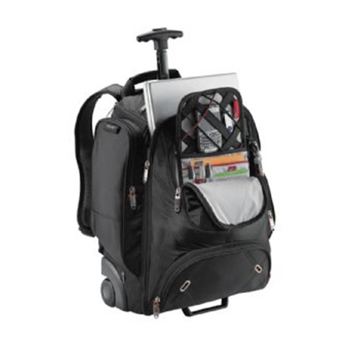 Elleven Wheeled Compu-Backpack-Black.