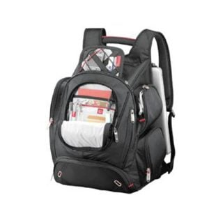 Elleven Checkpoint-Friendly Compu-Backpack - Black