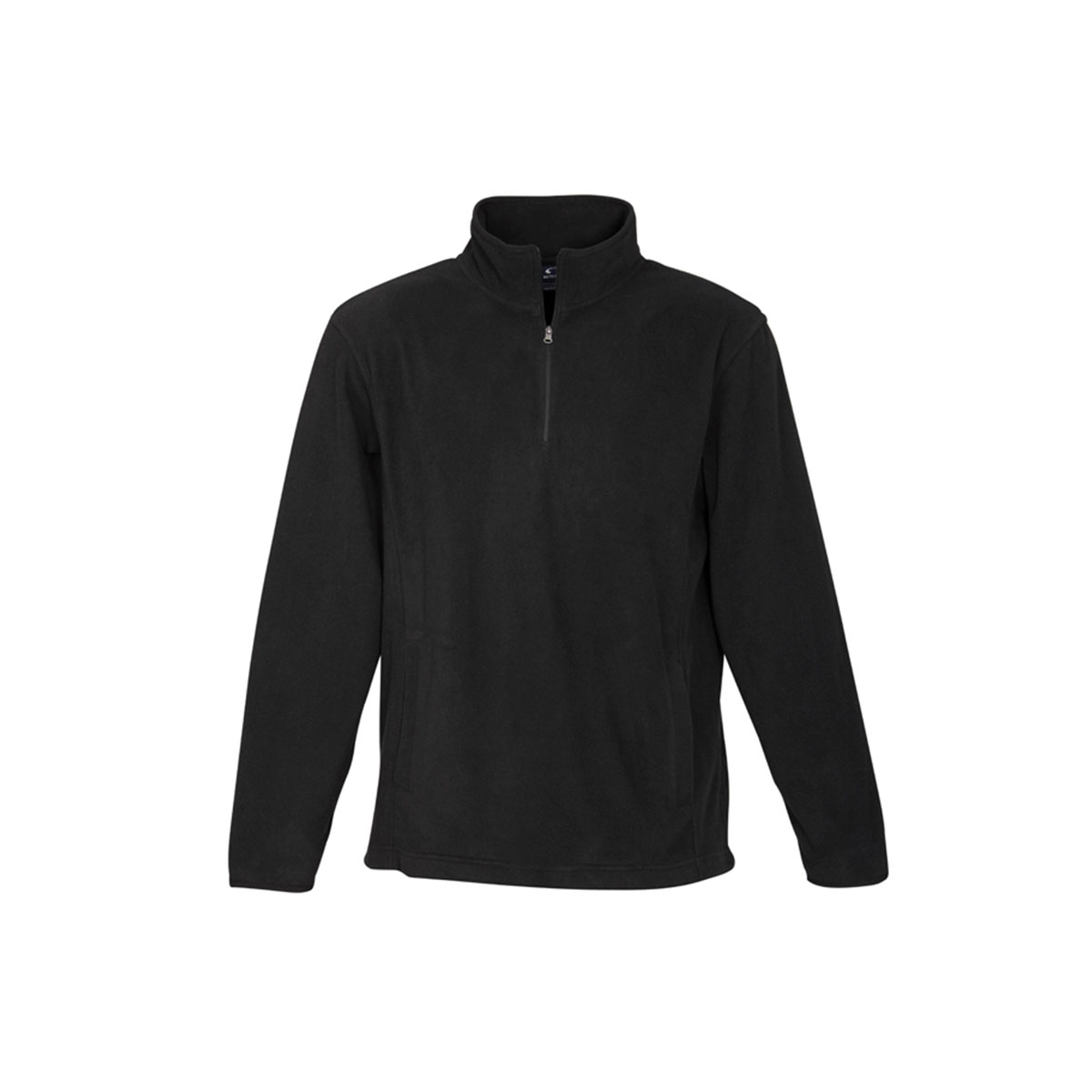 Mens Trinity 1/2 Zip Pullover-Black