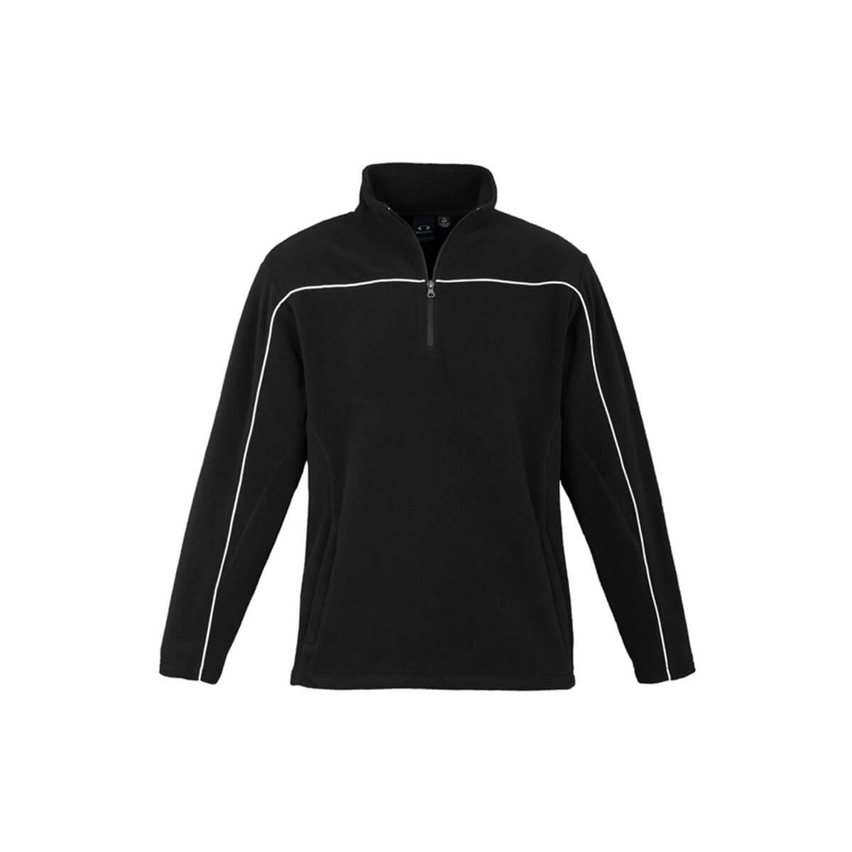 Mens Core Micro Fleece-Black / White