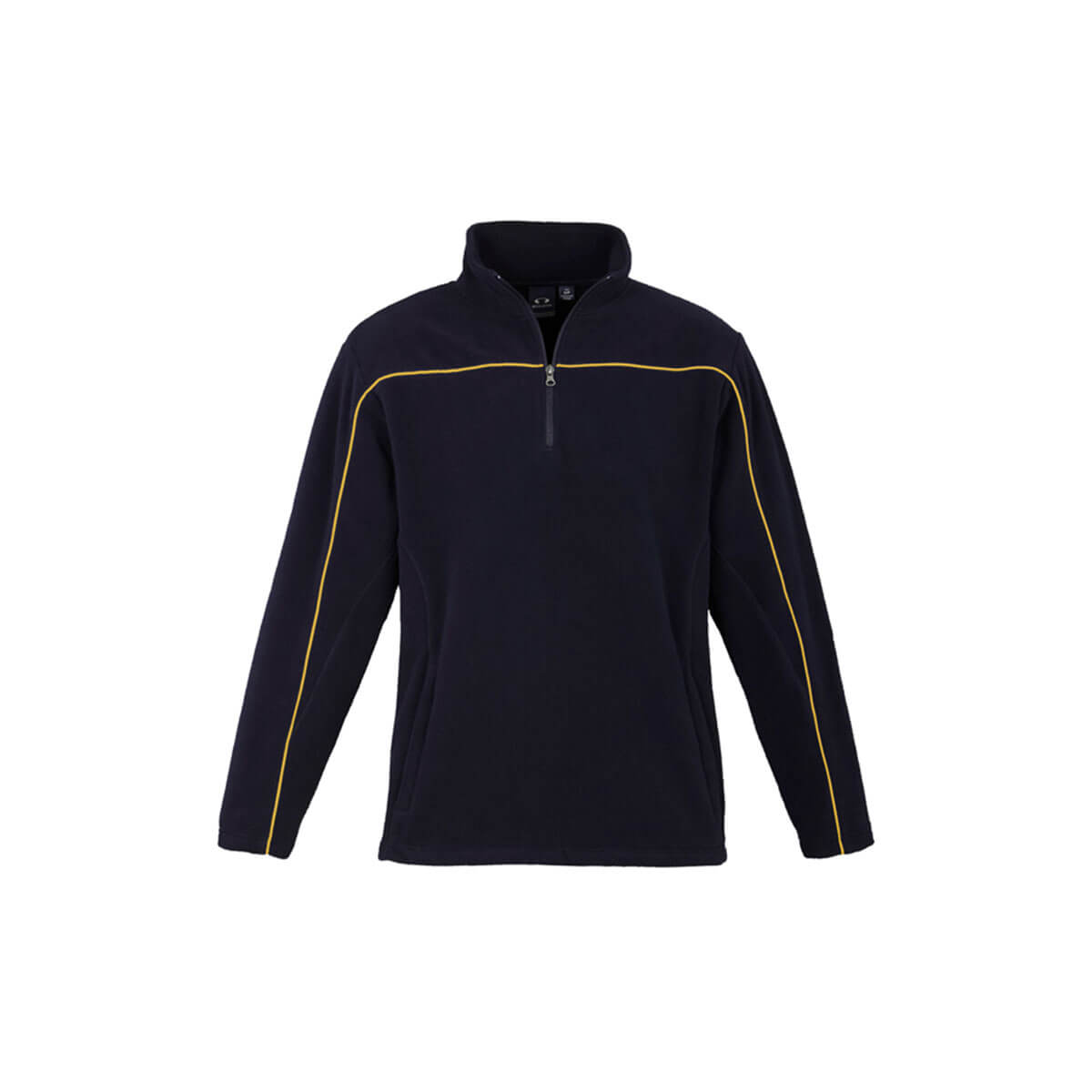 Mens Core Micro Fleece-Navy / Gold